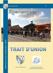 couverture trait d'union 2015